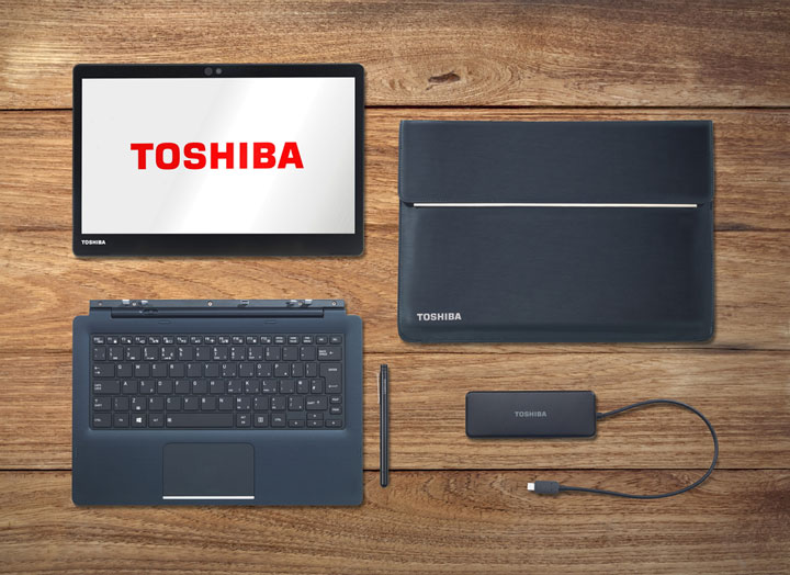 Imagen - Portégé X30T-E, el convertible de Toshiba con sensor de huellas dactilares y lápiz táctil