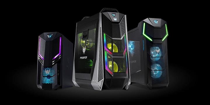 Predator Orion 9000, 5000 y 3000, los nuevos ordenadores gaming con hasta Intel Core i9