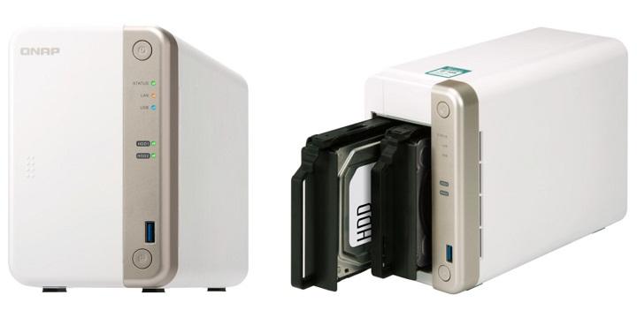 QNAP TS-251B, un NAS multimedia para el hogar con ranura PCIe