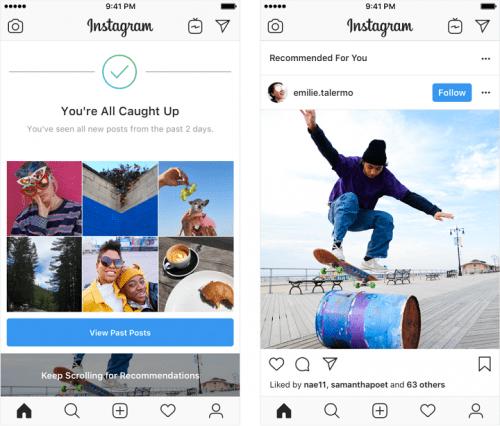 Imagen - Instagram comenzará a mostrarte publicaciones de perfiles a los que no sigues