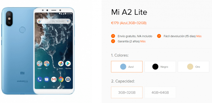Imagen - Dónde comprar el Xiaomi Mi A2 Lite