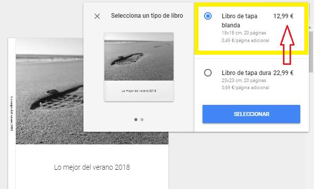 Imagen - Google Fotos te permite imprimir un álbum desde 12,99 euros