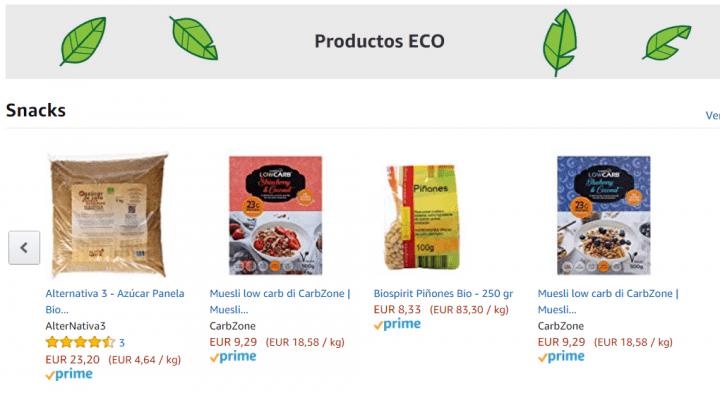 Imagen - Amazon lanza su sección de alimentos ecológicos