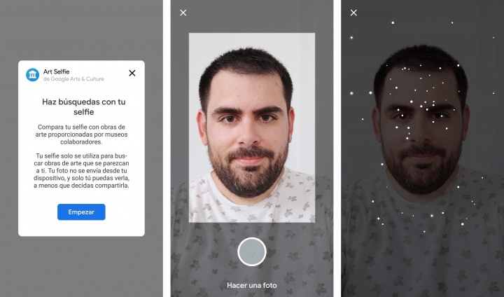 Imagen - Art Selfie, hazte un selfie y busca tu rostro en obras de arte