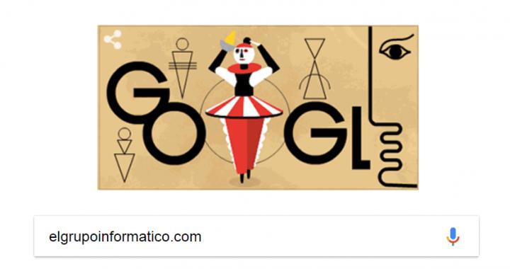 Imagen - Google dedica un Doodle al artista Oskar Schlemmer