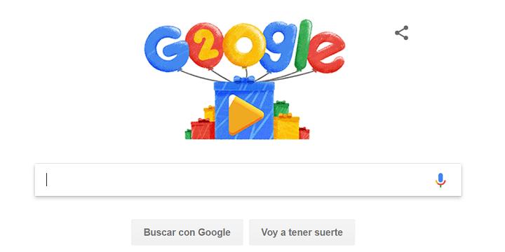 Imagen - Google lanza un Doodle por su 20º aniversario repasando las búsquedas más populares