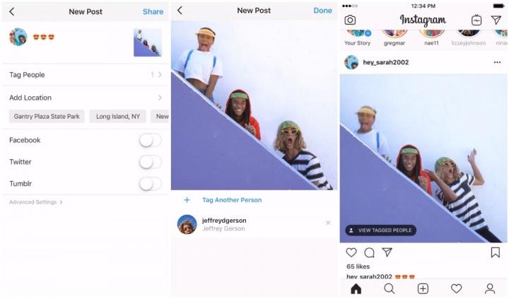 Imagen - Instagram ya permite etiquetar en los vídeos