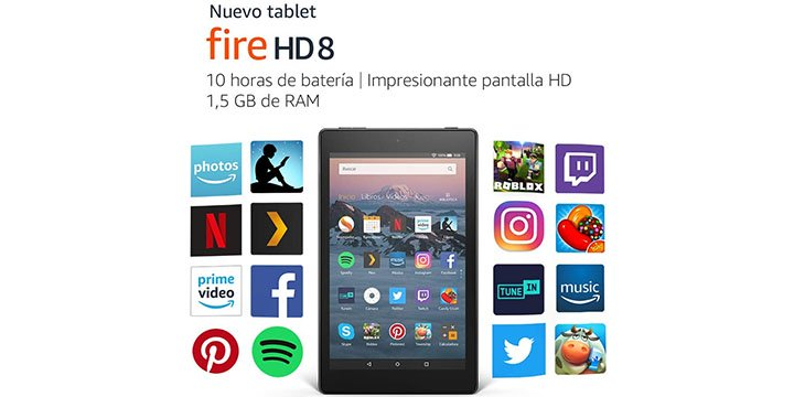 Imagen - Fire HD 8 es oficial con pantalla de 8 pulgadas desde 99 euros