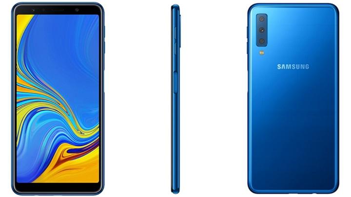 Imagen - Samsung Galaxy A7 (2018), el nuevo smartphone con triple cámara trasera