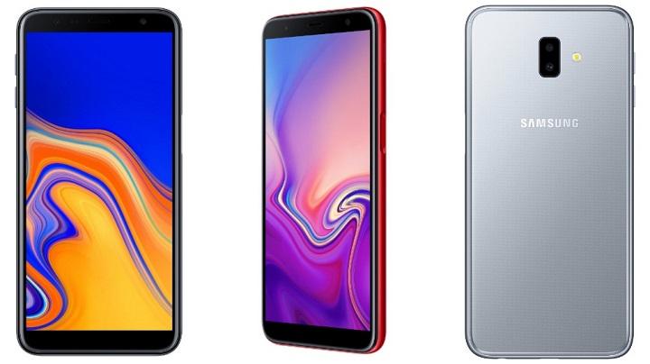 Imagen - Samsung Galaxy J4+ y J6+ son oficiales con pantallas de 6 pulgadas y baterías de 3.300 mAh