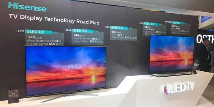 Imagen - HiSense U9D y U8A, los nuevos televisores ULED con resolución 4K