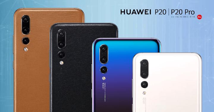 Imagen - Huawei P20 y P20 Pro llegarán en nuevos colores y configuraciones