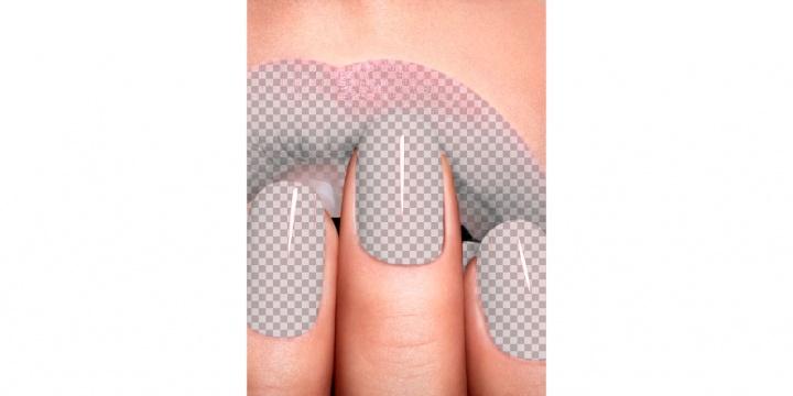 Imagen - ¿De qué color son los labios y las uñas? La nueva imagen viral de WhatsApp
