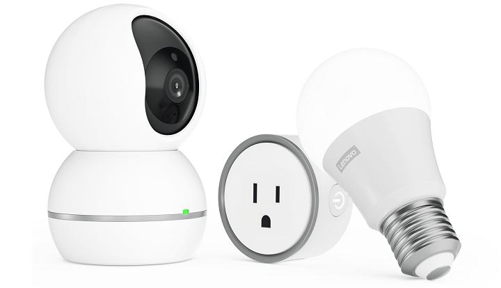 Lenovo Smart Plug, Smart Camera y Smart Bulb, los nuevos dispositivos Smart Home