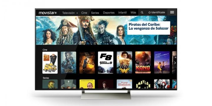 Movistar+ renueva su interfaz para smart TV