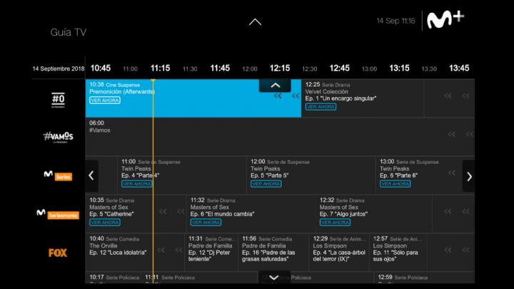 Imagen - Movistar+ renueva su interfaz para smart TV