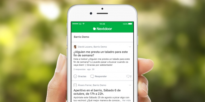 Descarga Nextdoor, la app para tener buenas relaciones con los vecinos del barrio