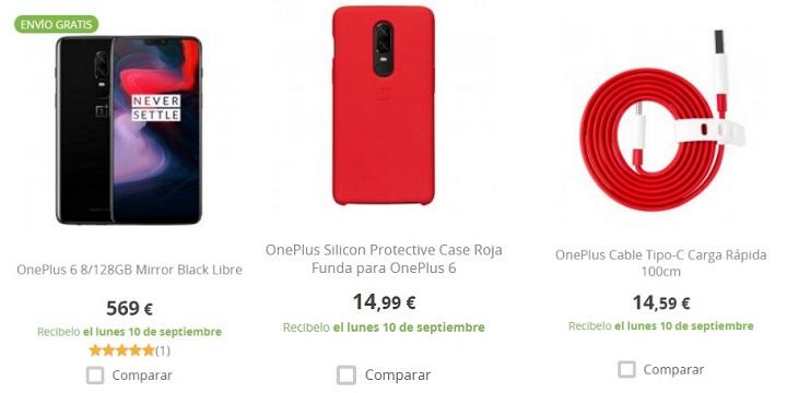 Imagen - Ya puedes comprar el OnePlus 6 y accesorios oficiales en PcComponentes