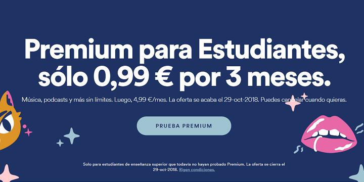 Imagen - Spotify Premium para estudiantes, por solo 0,99 euros durante 3 meses