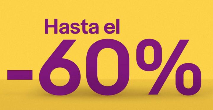 Imagen - Oferta: vuelve el Super Weekend de eBay con descuentos de hasta el 60%