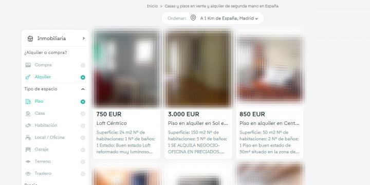 Imagen - Wallapop lanza la categoría Viviendas