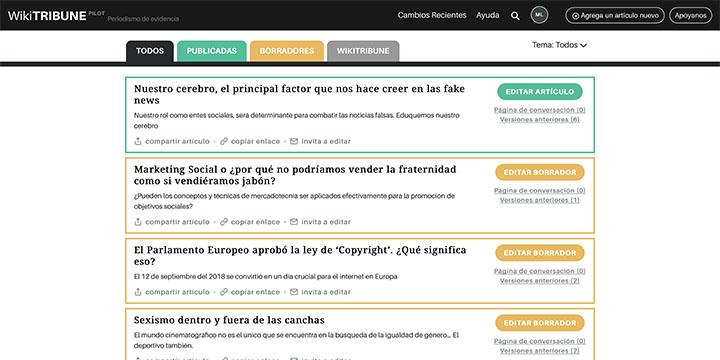 Imagen - WikiTribune, una plataforma web de noticias colaborativa para luchar contra las fake news