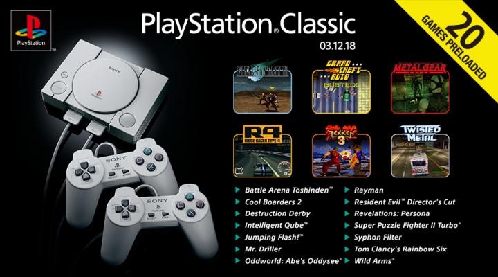 Imagen - PlayStation Classic: estos son los 20 juegos que incluye