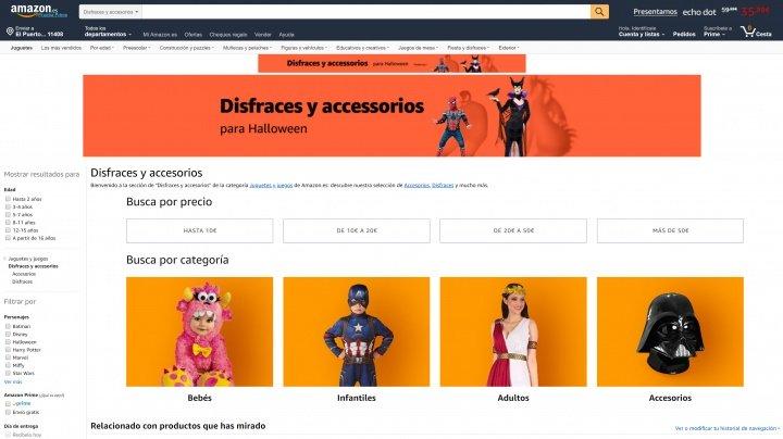 Imagen - 7 tiendas online donde comprar disfraces para Halloween