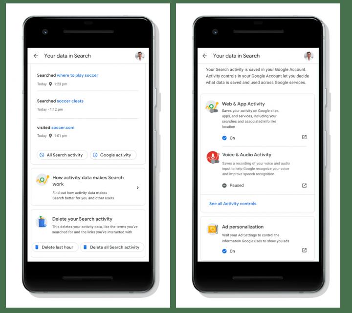 Imagen - Controla lo que Google sabe de ti sin salir de sus servicios
