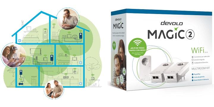 Imagen - Devolo Magic, los nuevos powerline con WiFi mesh de hasta 2.400 Mbps