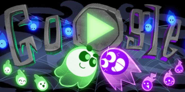 Google lanza un Doodle por Halloween con un juego online competitivo