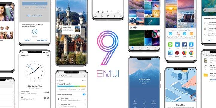 EMUI 9.0 ya está disponible con visión inteligente, más velocidad y ajustes simplificados