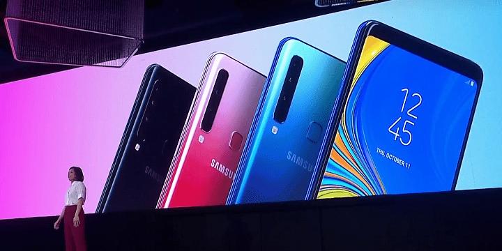 Imagen - Samsung Galaxy A9, el primer teléfono con cuádruple cámara principal
