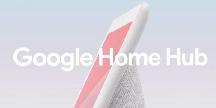 Google Home Hub, un altavoz inteligente con pantalla de 7 pulgadas