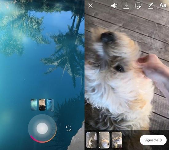 Imagen - Instagram ya permite grabar múltiples vídeos para los Stories y subirlos a la vez