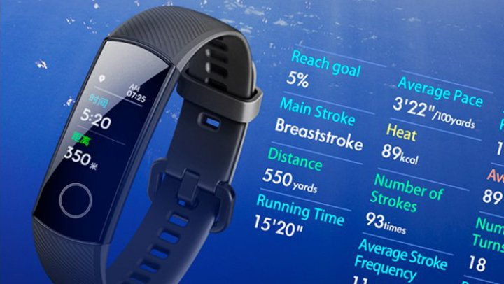 Imagen - Honor Band 4, la pulsera fitness con pantalla AMOLED a color y apta para nadar