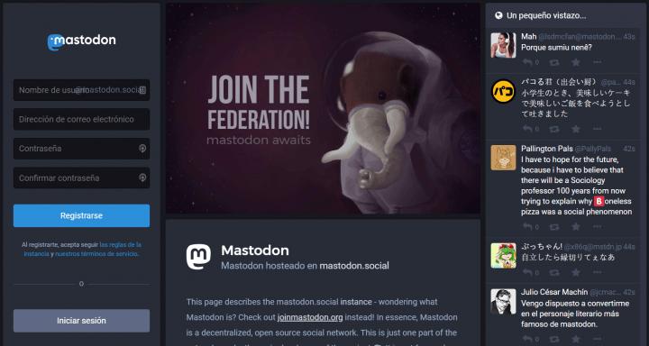 Imagen - Mastodon, la red social abierta y descentralizada para competir con Twitter
