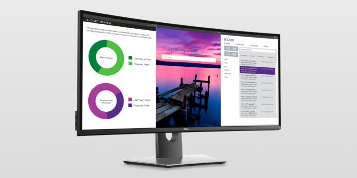UltraSharp 49 Curved Monitor, 32 4K, 34, 24 y UltraSharp 27: los nuevos monitores de Dell