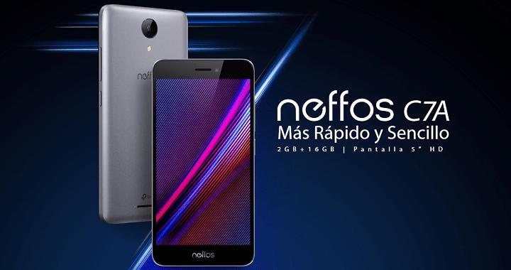 Neffos C7A, el smartphone compacto de 5 pulgadas de TP-Link