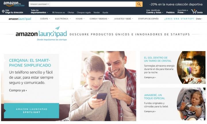 Imagen - Amazon abre Launchpad, una sección con productos innovadores de startups