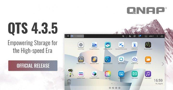 Imagen - QTS 4.3.5 es oficial: el sistema operativo para NAS de QNAP se actualiza