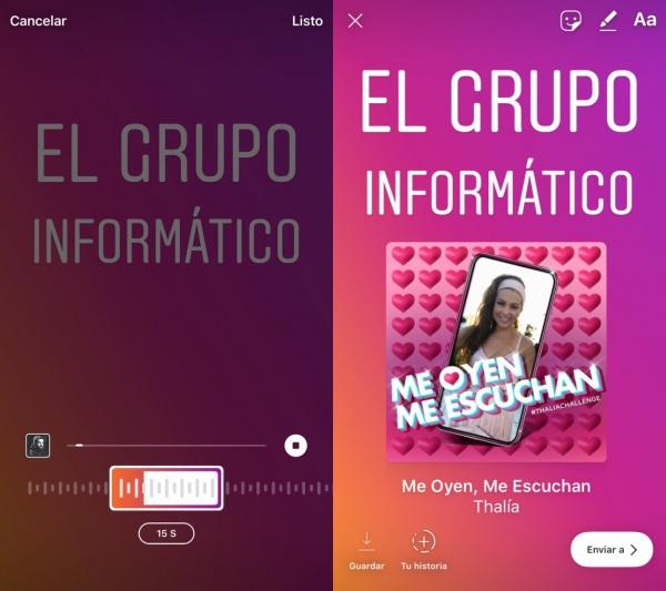 Imagen - Instagram Music, el nuevo sticker para Instagram Stories ya está disponible