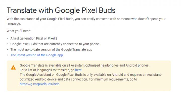 Imagen - La traducción instantánea con Google Assistant llegará a todos los auriculares