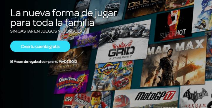 Imagen - Wade Box, la consola española con videojuegos en streaming