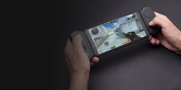 Imagen - Xiaomi Black Shark Helo, el móvil gaming con 10 GB de RAM y mandos estilo Nintendo Switch