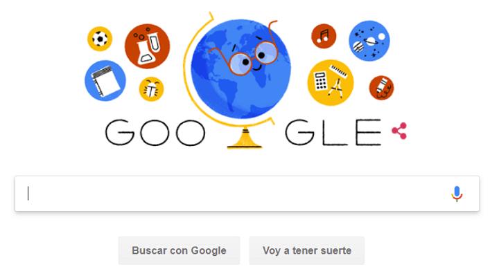 Imagen - Google conmemora el Día Internacional del Profesor 2018 con un Doodle