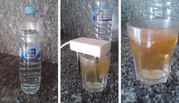Imagen - Un viral sobre las impurezas del agua Font Vella circula por WhatsApp