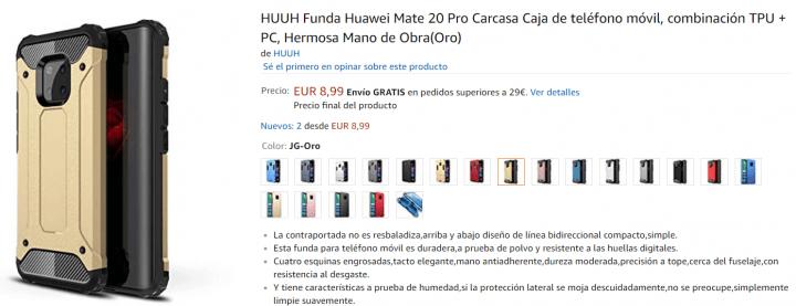Imagen - 7 fundas para el Huawei Mate 20 Pro