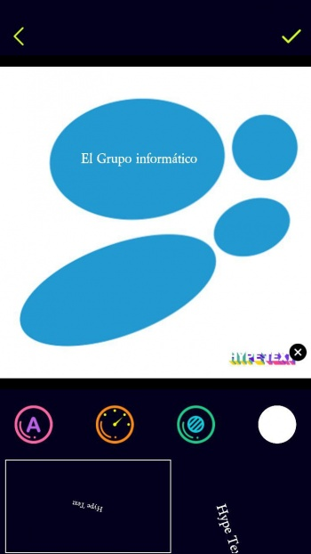 Imagen - Hype Text, la app para crear Stories de texto animadas