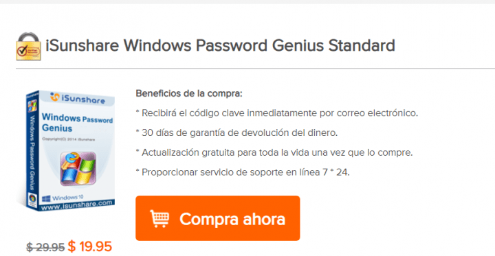 Imagen - Review: iSunshare Windows Password Genius, restablece la contraseña de Windows fácilmente